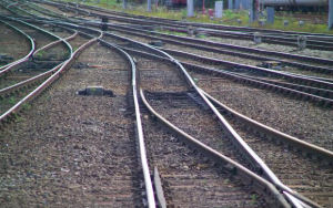 Picture of converging tracks to illustrate Clive Miller's article about the importance of planning in selling anything.